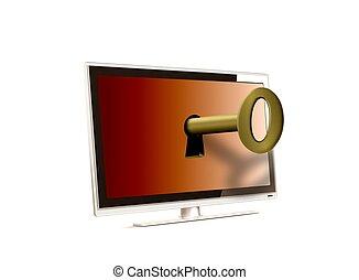 LCD unlock