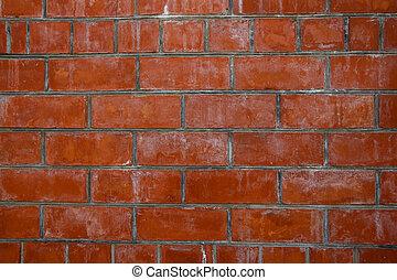 ?ld red brick wall texture
