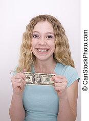 leány, és, pénz
