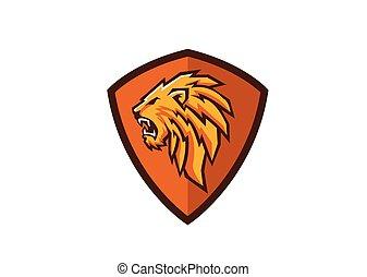 leão, crista