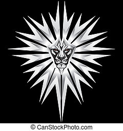 leão, metalic