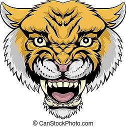 leão montanha, wildcat