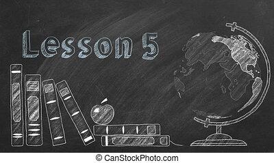 leçon, 5