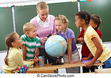 leçon, géographie