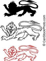 león, real