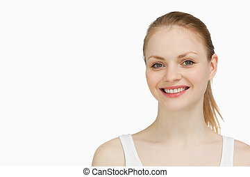 le för woman, blonde-haired