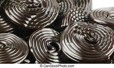 Le liquirizie a forma di ruote