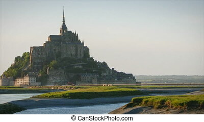 Le Mont Saint Michel in France