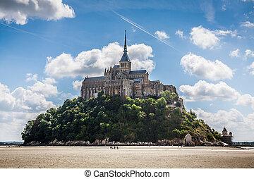 Le Mont Saint Michel, Normandy, France