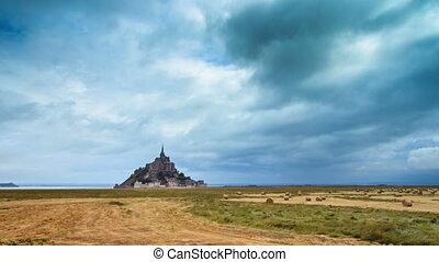 Le Mont Saint-Michel timelapse