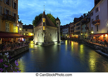 Le Palais de I'lle, Annecy, France