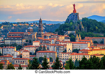 Le Puy-en-Velay Old Town, France
