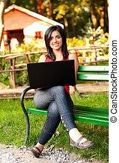le womanen, laptop