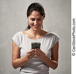 le womanen, smartphone