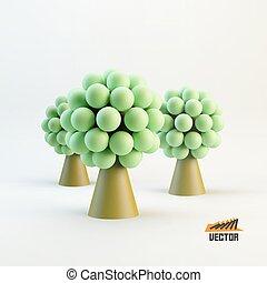 leader., 概念, illustration., ビジネス