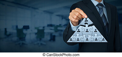 Leader and CEO - CEO, leadership and corporate hierarchy ...