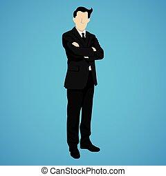leader businessman