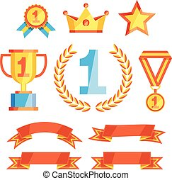 Leader Icons Set