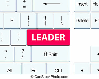 Leader pink keyboard button