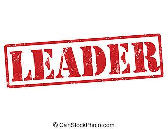 Leader stamp