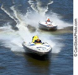 leader - boat race