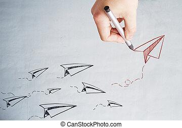 Leadership and startup wallpaper
