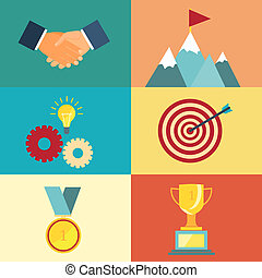 leadership and success illustration
