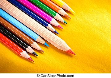 leadership concept pencil