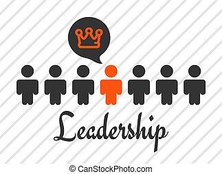 'Leadership' concept vector illustration