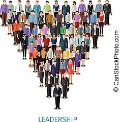 leadership conceptual illustration