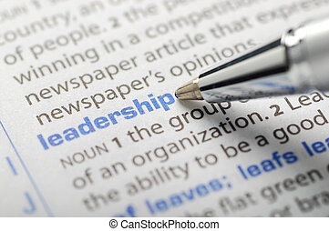 Leadership - Dictionary Series