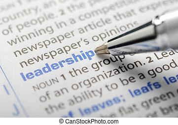 Leadership - Dictionary Series