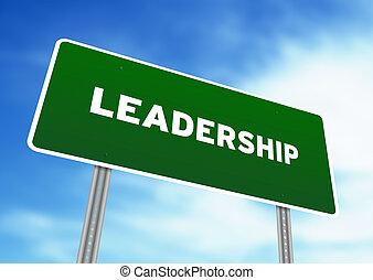 Leadership Highway Sign