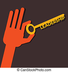 Leadership key in hand