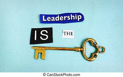 Leadership key