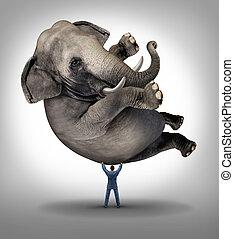 Leadership Solutions - Leadership solutions business concept...