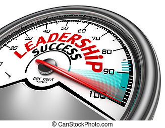 leadership success conceptual meter