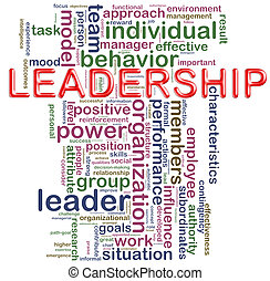 Leadership wordcloud - Illustration of Words in a wordcloud...