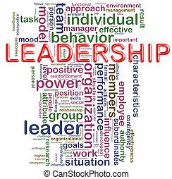 Leadership wordcloud - Illustration of Words in a wordcloud...