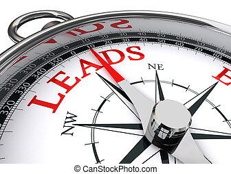 leads conceptual compass