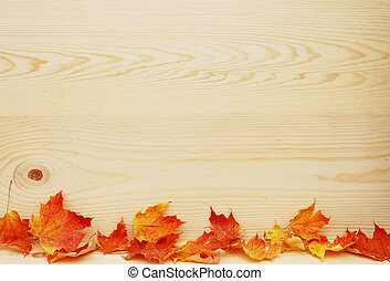 pine wood  - Leaf and pine wood design for background