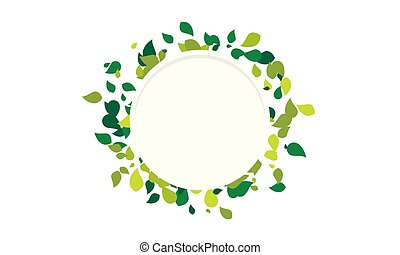 Leaf Background Vector design
