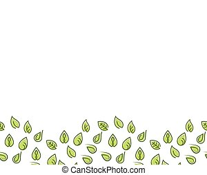 Leaf Background Vector Illustration