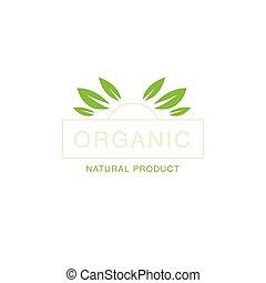 Leaf Crown Organic Product Logo