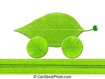 Leaf eco car