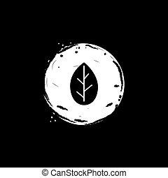 leaf eco icon