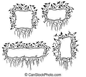 Leaf frames