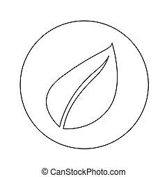 Leaf Icon illustration design