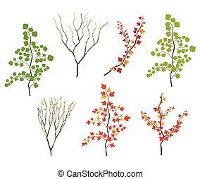 Leaf illustration object. vector eps10.