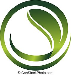 Leaf Logo Design Template Vector